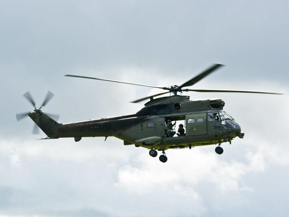 RAF Puma Helicopter
