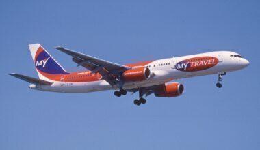 MyTravel Airways Boeing 757