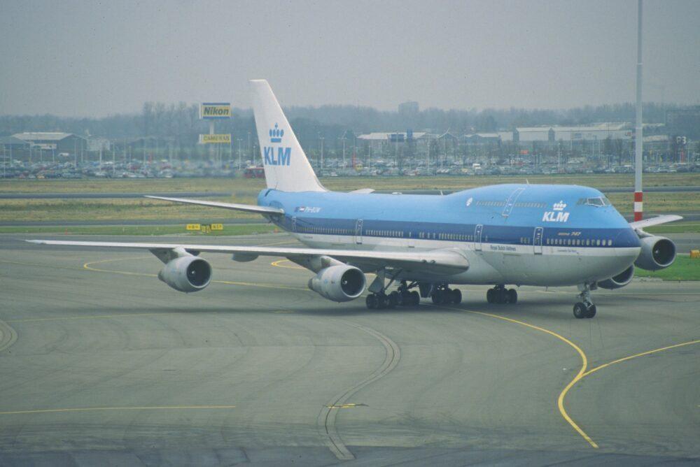KLM Boeing 747-300M