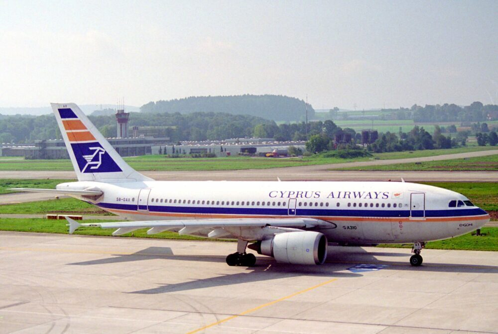Cyprus Airways Airbus A310