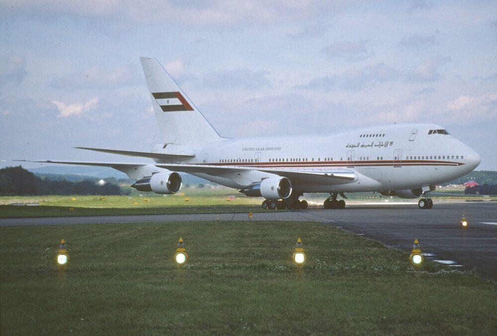 Dubai Air Wing Boeing 747SP