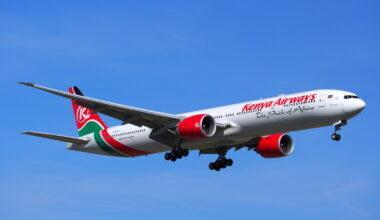 Kenya Airways 777-300ER