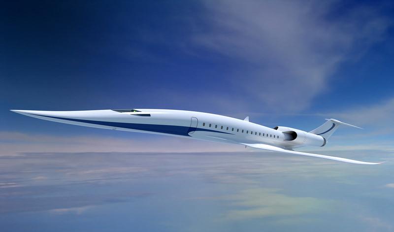 JAXA supersonic