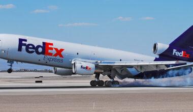 FedEx McDonnell Douglas MD-10-10F