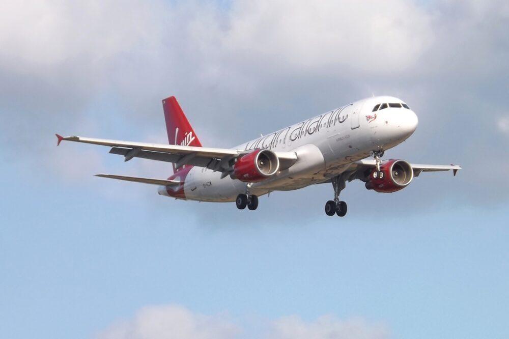 Virgin Atlantic Little Red Airbus A320