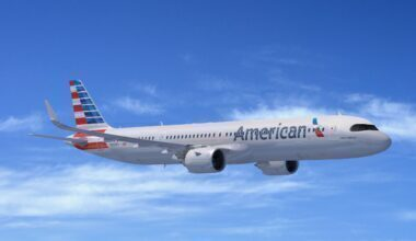 A321XLR American Airlines