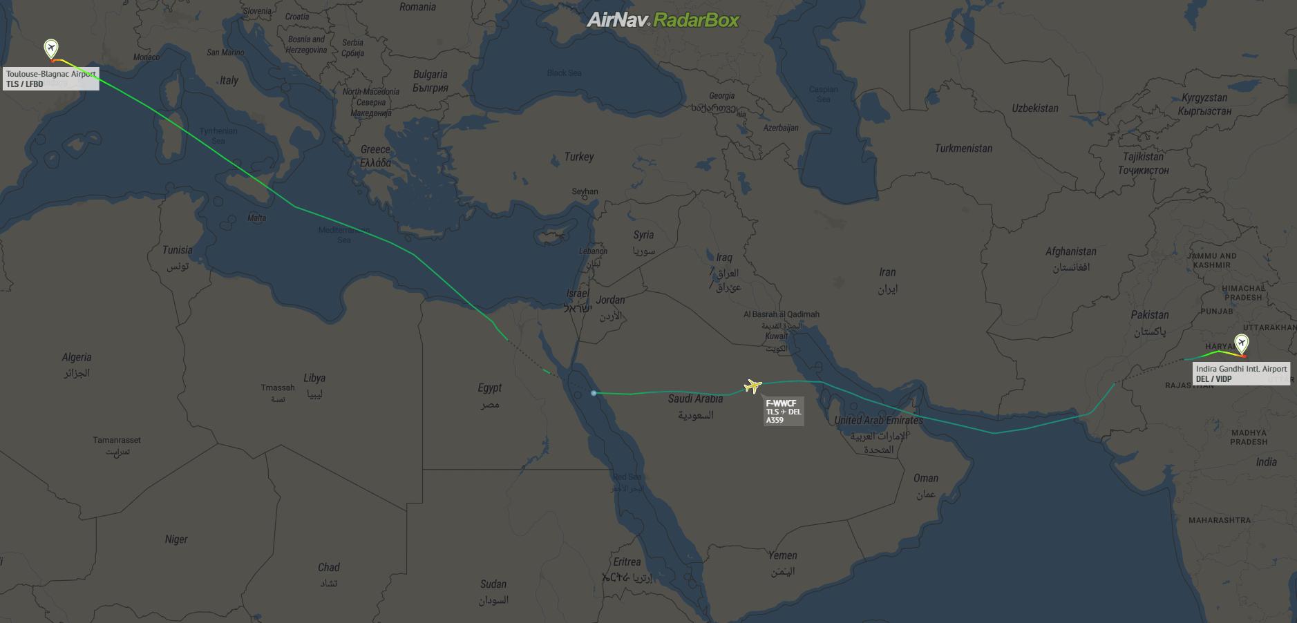 Airbus, A350, Humanitarian Aid