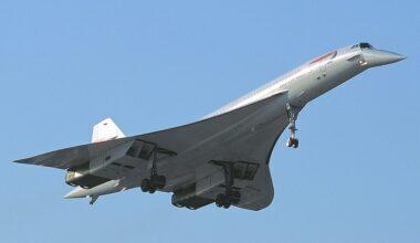 British Airways Concorde G-BOAG