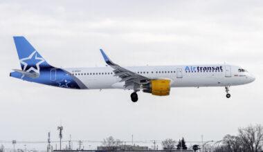 Air Transat Airbus A321-211 C-GTCY