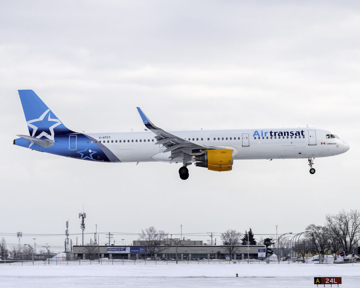 Canada's Air Transat Operates Its First Flights In 6 Months