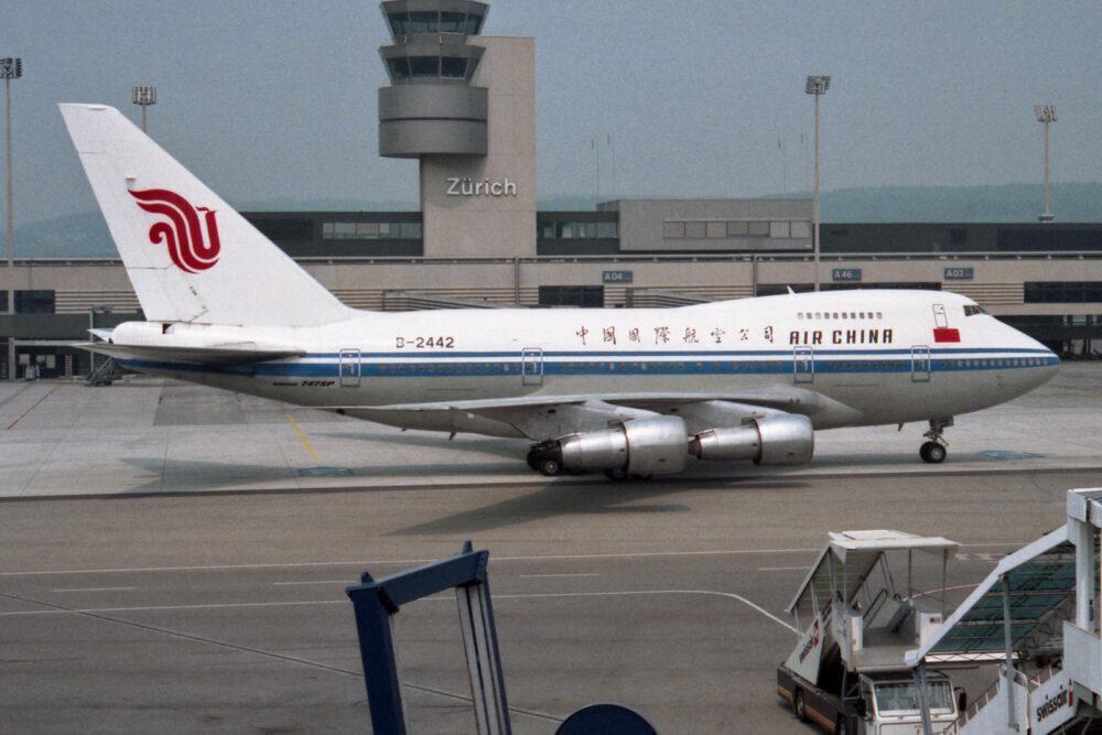 Air China 747SP
