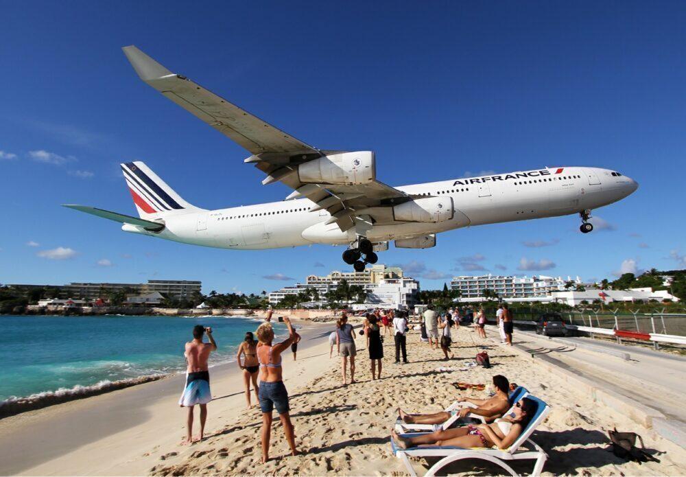 What Were Air France's Top A340-300 Destinations?