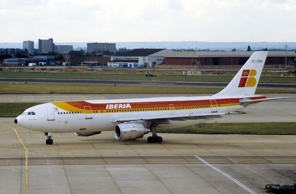 Iberia Airbus A300