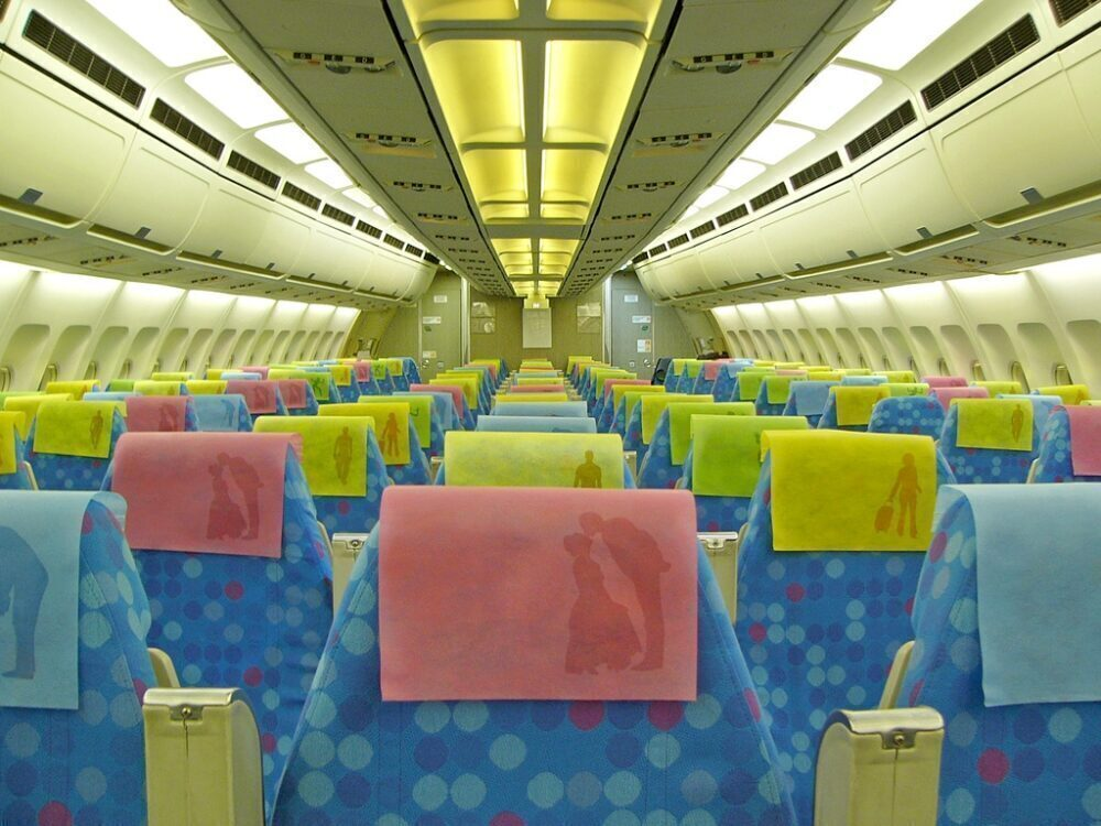 S7 Airlines Airbus A310 Cabin