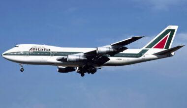 Alitalia Boeing 747-200