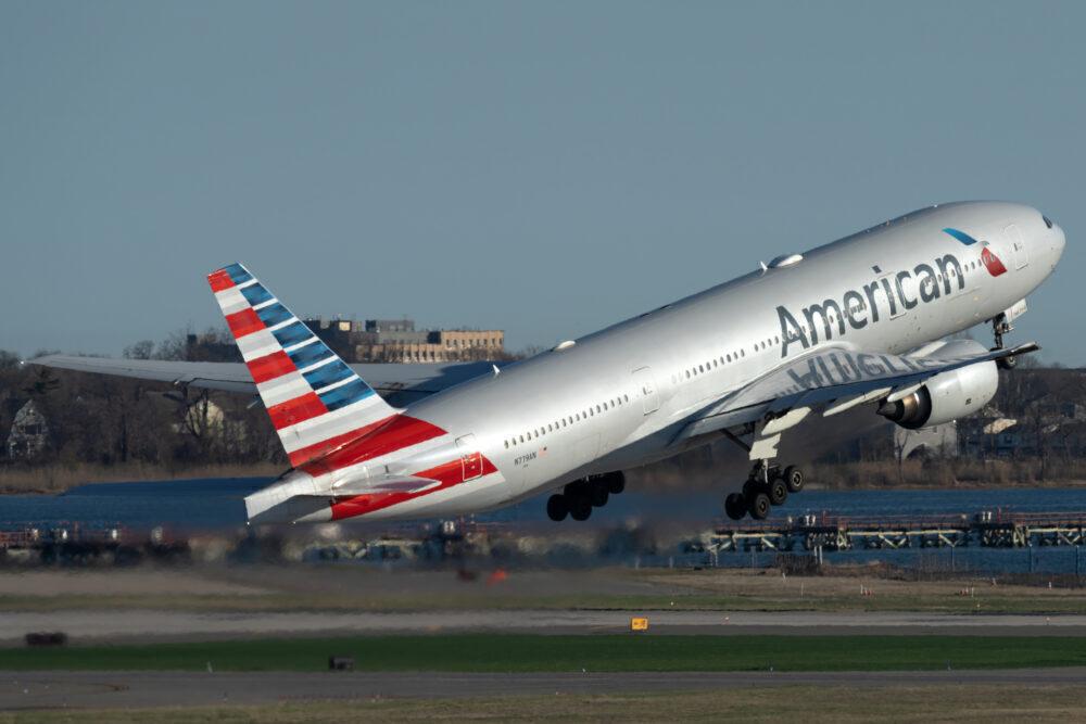 American Boeing 777