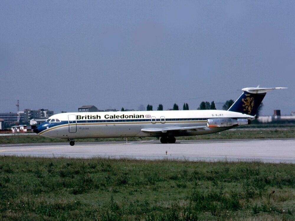 British Caledonian Airways BAC 1-11