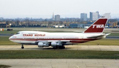 TWA Boeing 747SP