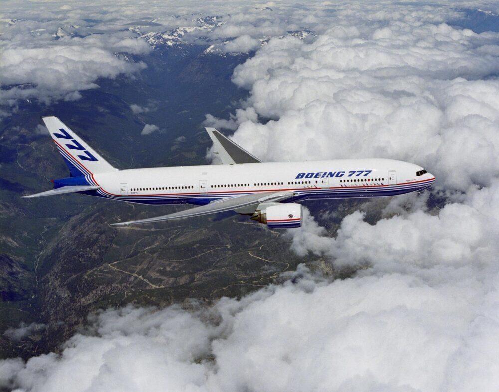 Boeing 777 launch