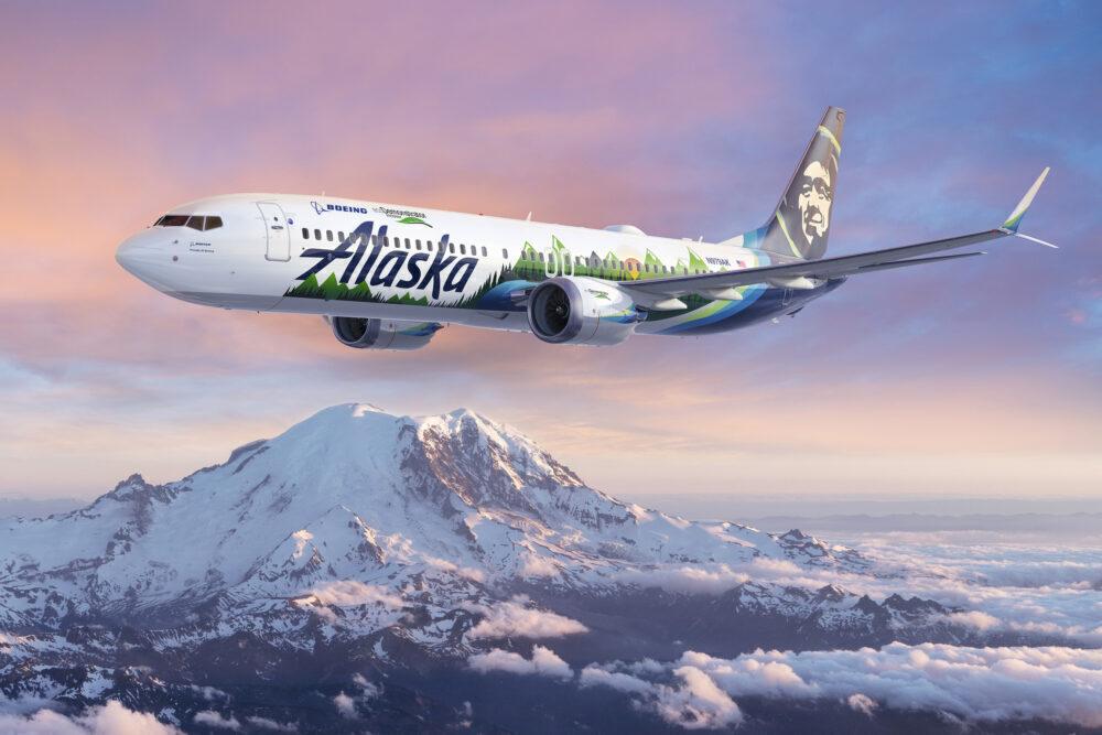 Boeing, Alaska Airlines, ecoDemonstrator