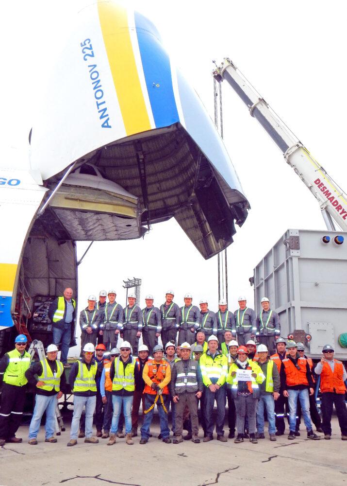 AN-2252 12 generator shipment