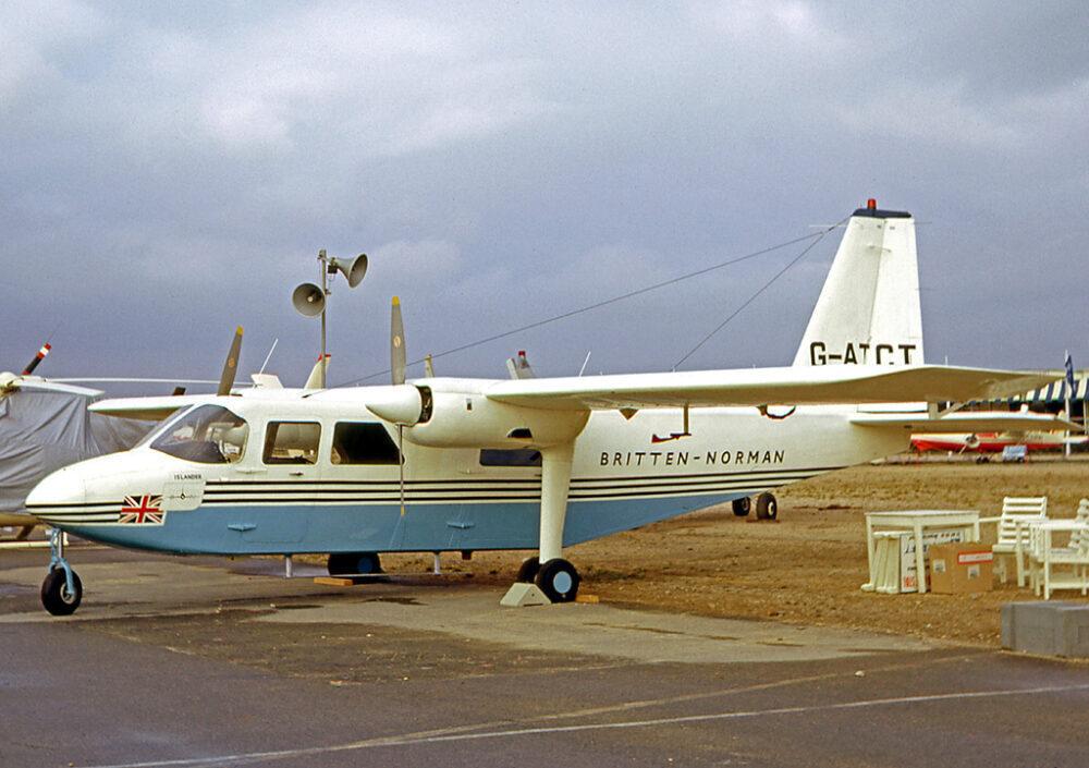 Britten-Norman Islander Prototype