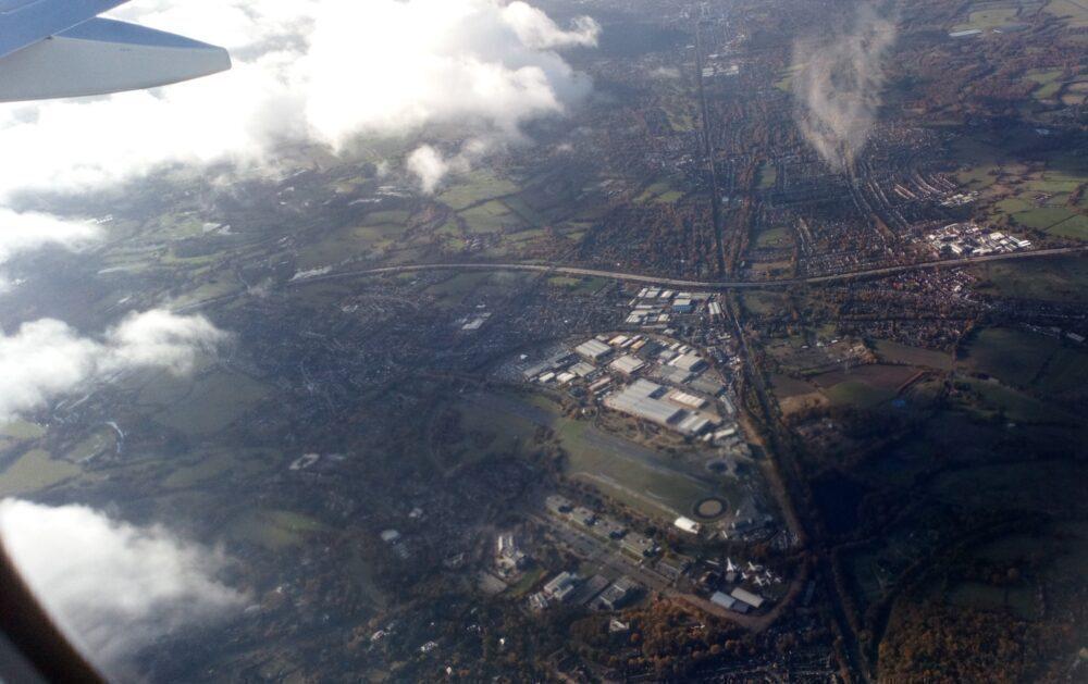 Brooklands Aerodrome Race Track