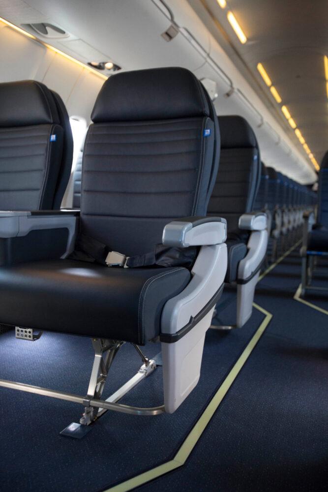 CRJ First class