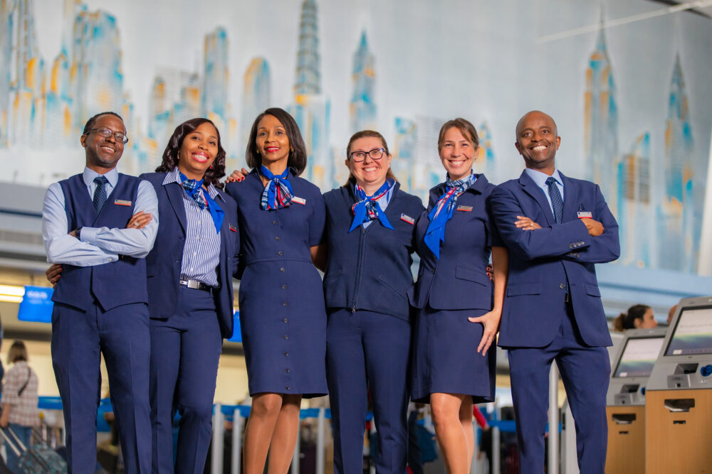 American Airlines customer service staff