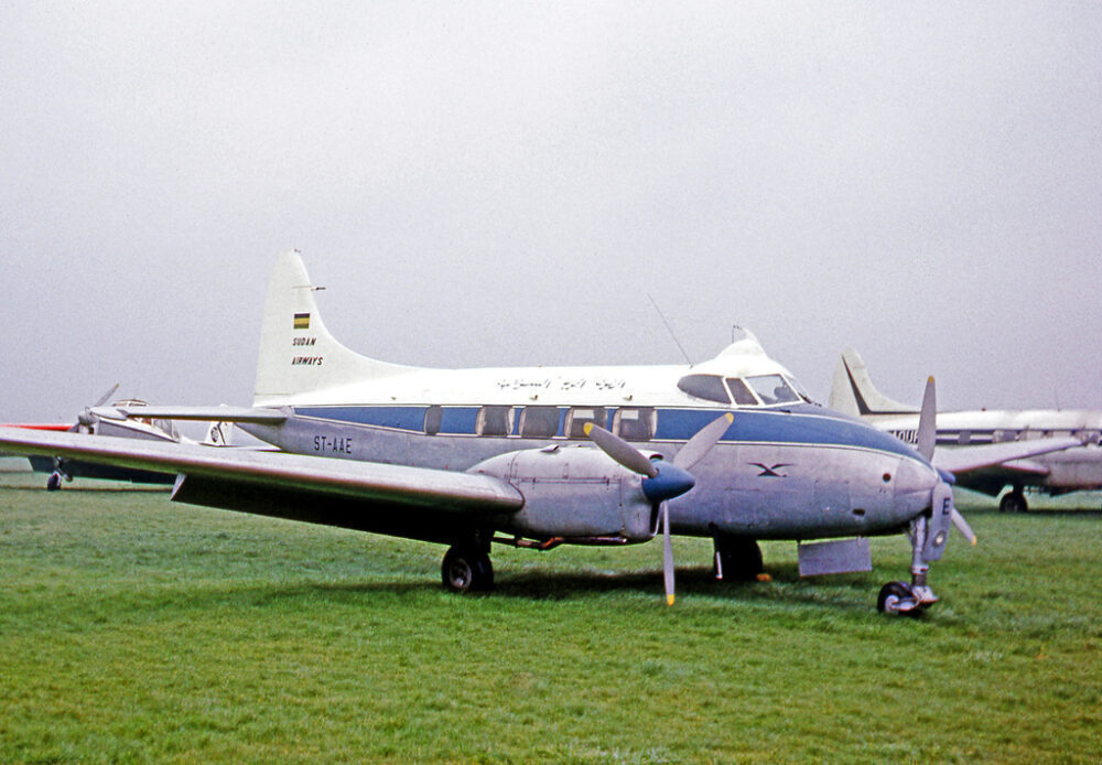 Sudan Airways De Havialland Dove