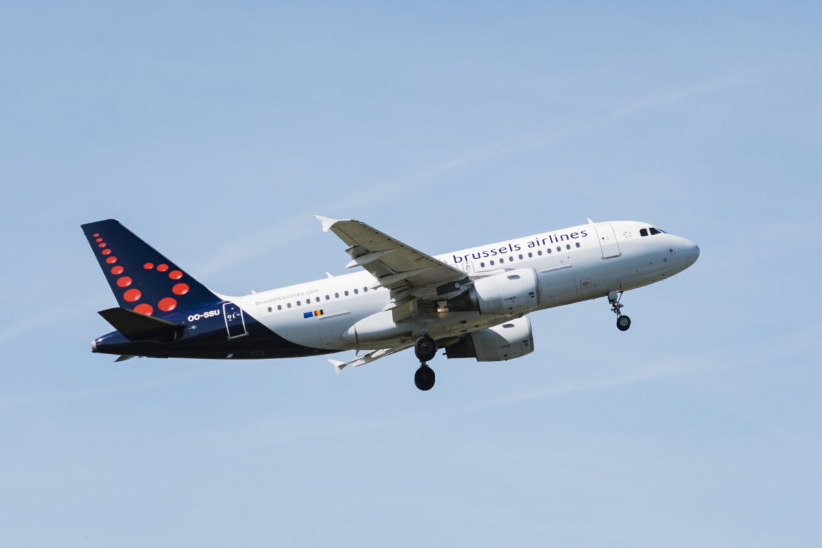 Brussels Airlines A319