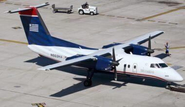Mesa Airlines US Airways Express Dash 8