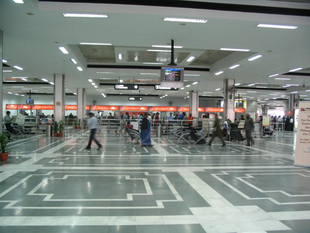 Delhi Airport Terminal 1A