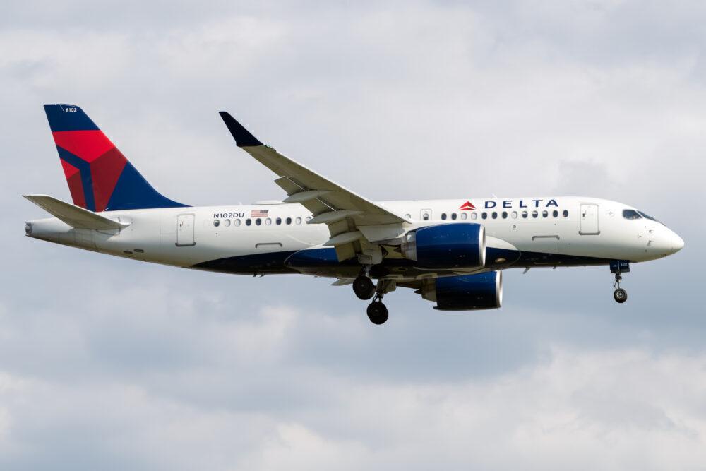 Delta Air Lines Airbus A220-100 N102DU