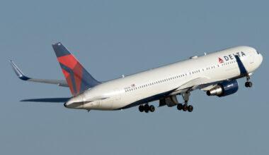Delta Air Lines Boeing 767-332(ER) N1604R