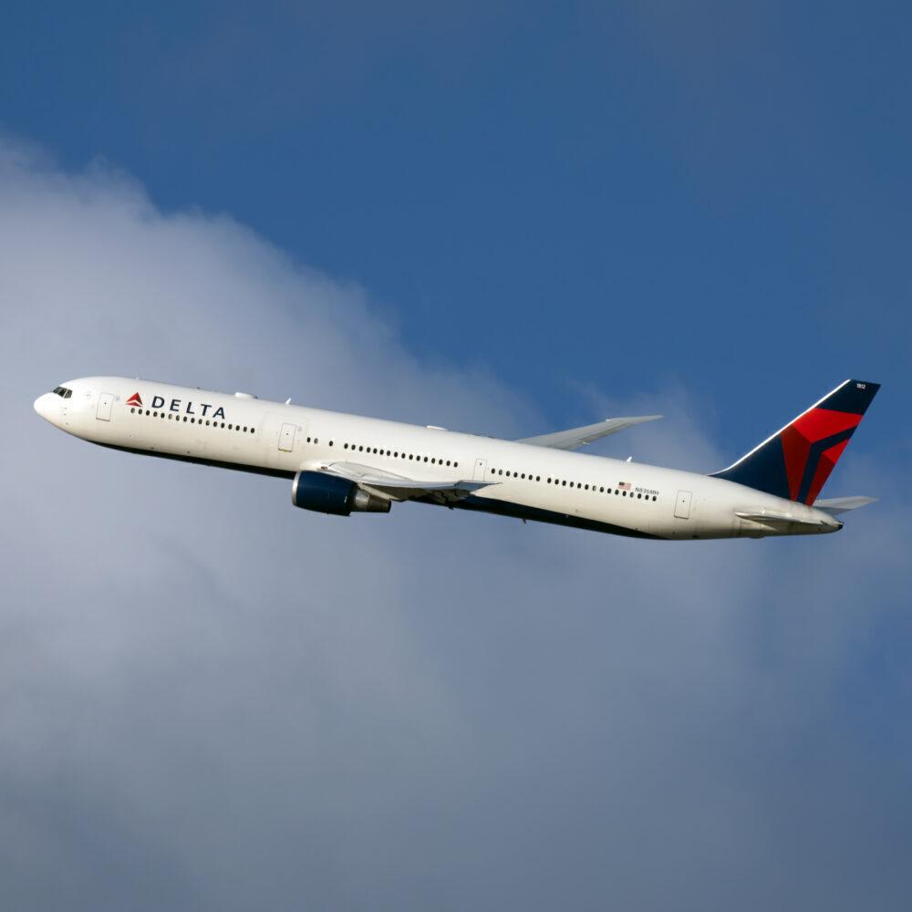 Delta Boeing 767-400 ou
