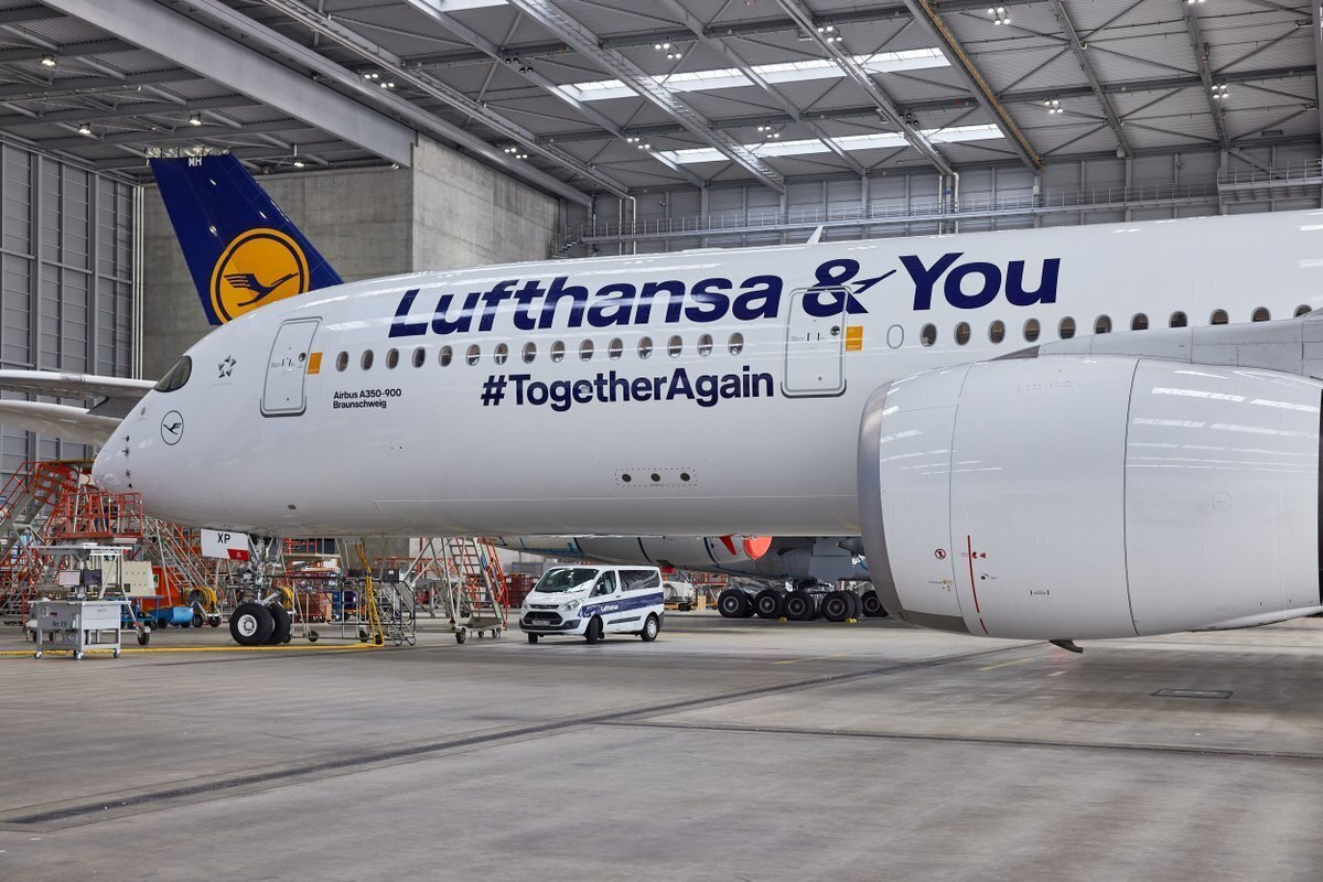 Lufthansa, Airbus A350, Special Livery