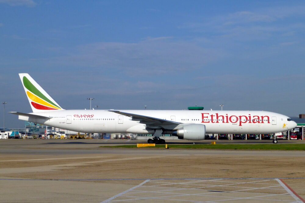 Ethiopian Boeing 777-300ER