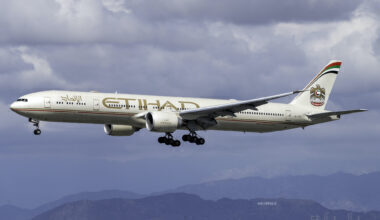 Etihad Airways Boeing 777-3FX(ER) A6-ETR