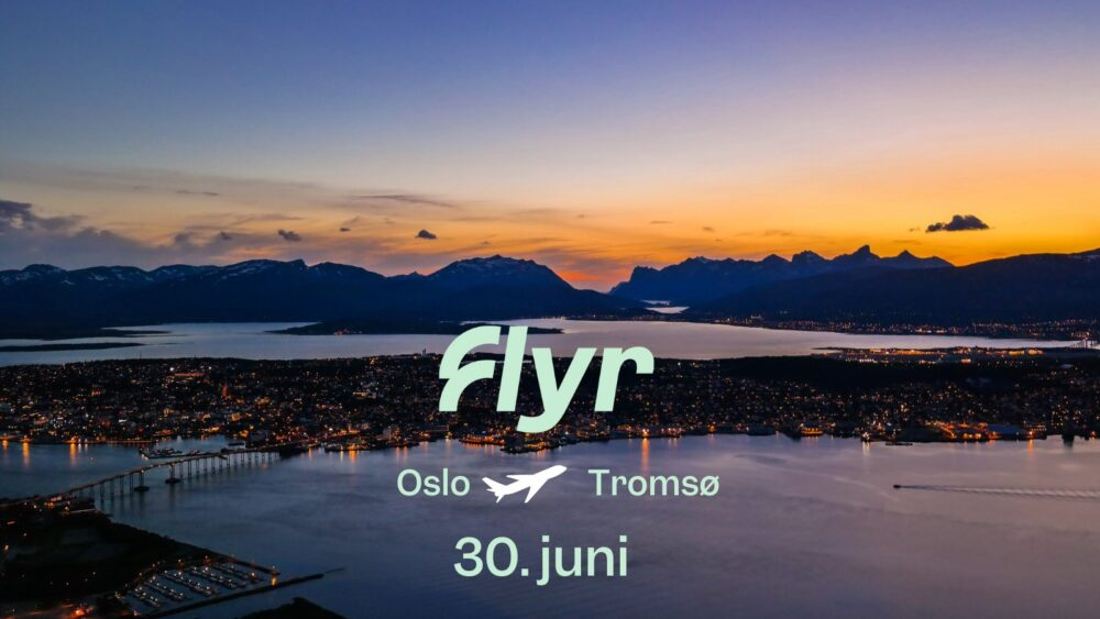 Flyr route launch