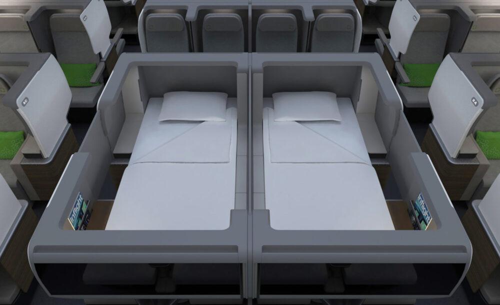 Training design Premium cabin concept