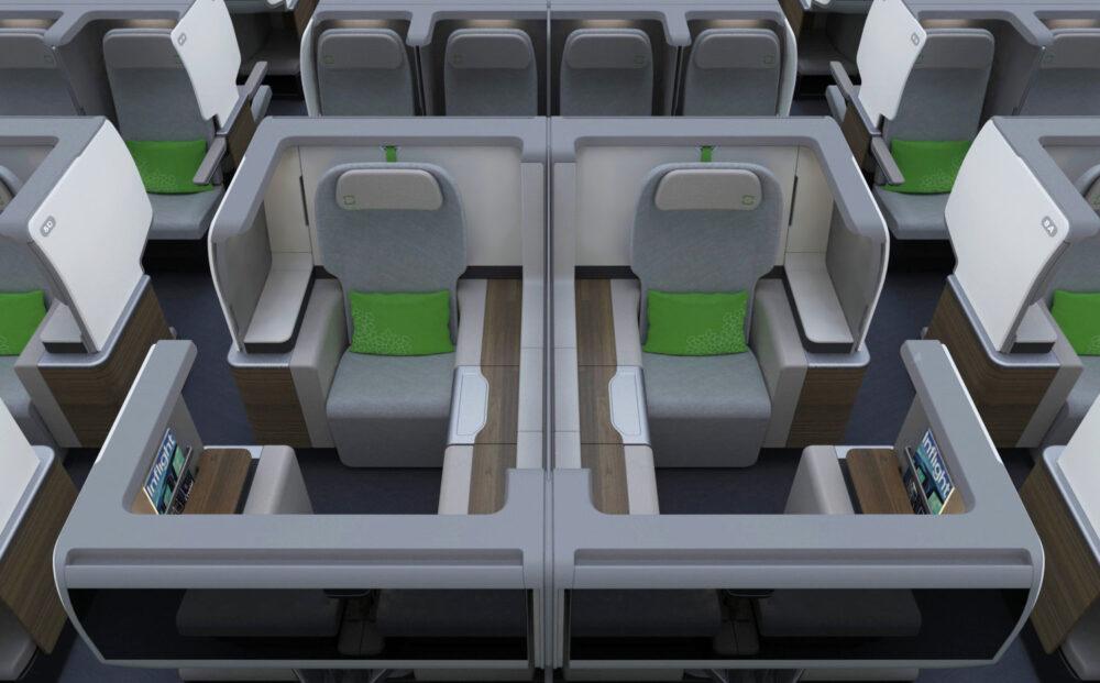 Design of the Premium Cabine Concept training