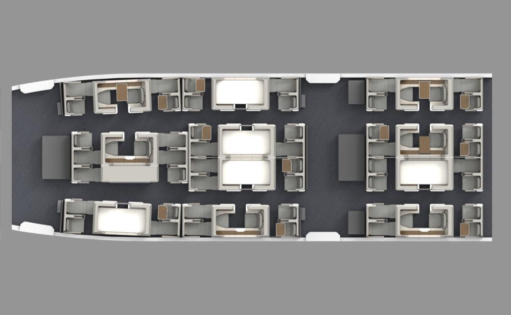 Premium cabin concept training design
