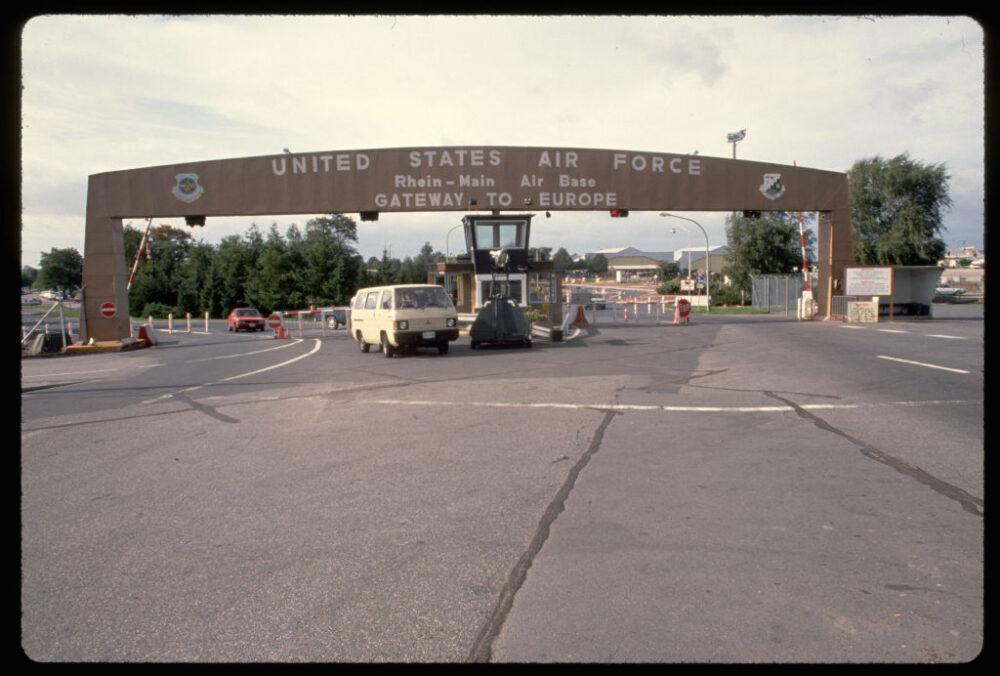 Front Gate of Rhein-Main Air Base