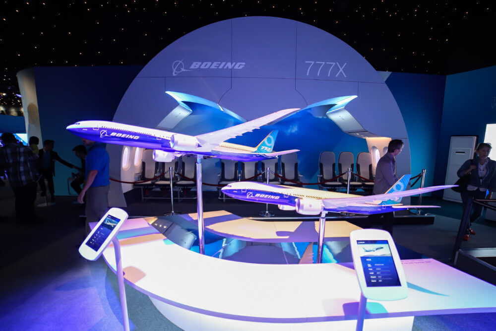 Boeing 777X models