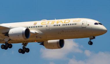 Etihad Airways B787
