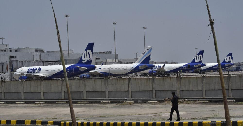 IndiGo GoAir A320s