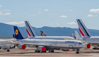 Lufthansa, Airbus A340, Return