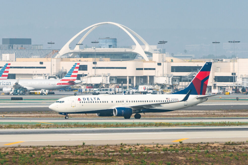 Delta American LAX