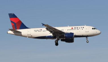 Delta Airbus A319